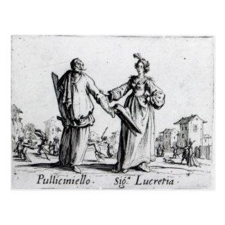 Postal Balli de Sfessania, c.1622 2