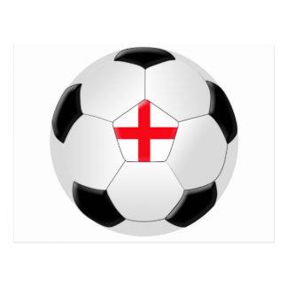Postal Balón de fútbol - Inglaterra
