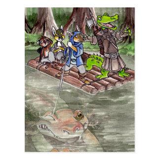 Postal Balsa del pantano
