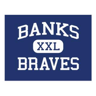 Postal Bancos - Braves - High School secundaria de los