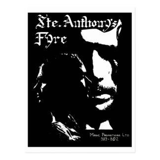 Postal Banda de Fyre de Sainte Anthony - 1970