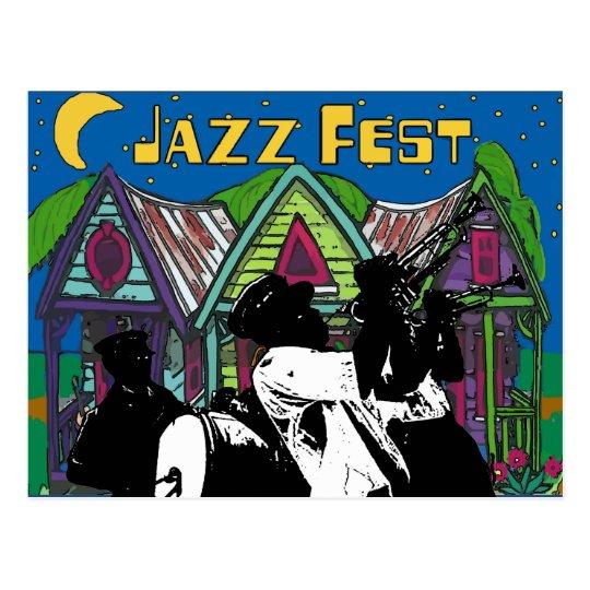 Postal Banda de metales del Fest del jazz