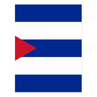 Postal Bandera cubana - Bandera Cubana - bandera de Cuba
