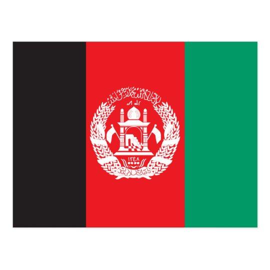 Postal Bandera de Afganistán