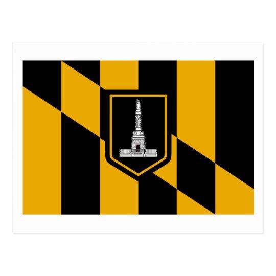 Postal Bandera de Baltimore
