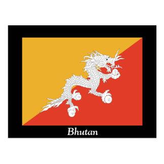 Postal Bandera de Bhután