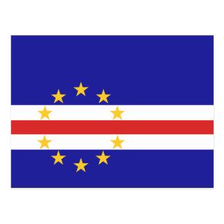 Postal Bandera de Cabo Verde