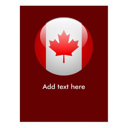 Postal Bandera de Canadá