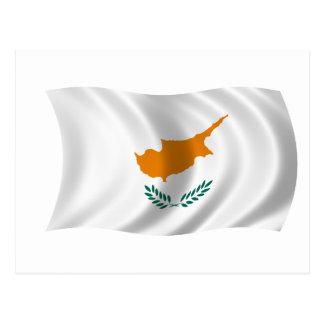 Postales Bandera De Chipre  Tarjetas postales  Zazzlees