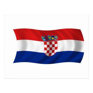 Postal Bandera de Croacia