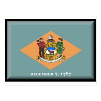 Postal Bandera de Delaware