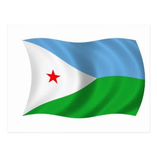 Postal Bandera de Djibouti