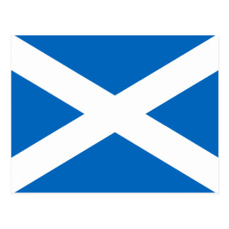Postal Bandera de Escocia