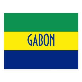 Postal Bandera de Gabón