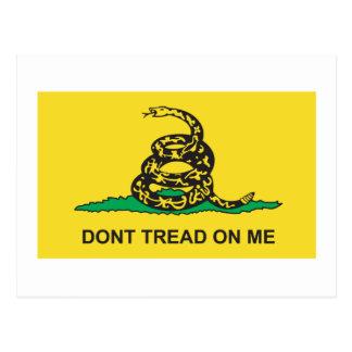 Postal Bandera de Gadsden