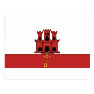 Postal Bandera de Gibralter