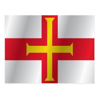 Postal Bandera de Guernesey
