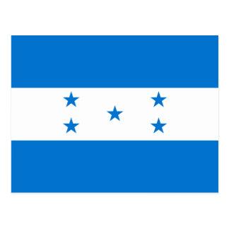 Postal Bandera de Honduras