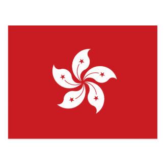 Postal Bandera de Hong Kong
