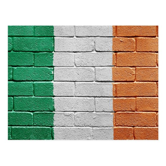 Postal Bandera de Irlanda