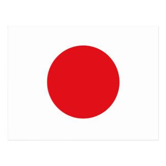 Postal Bandera de Japón