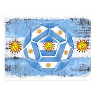 Postal Bandera de la Argentina