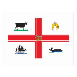 Postal Bandera de la ciudad de Melbourne