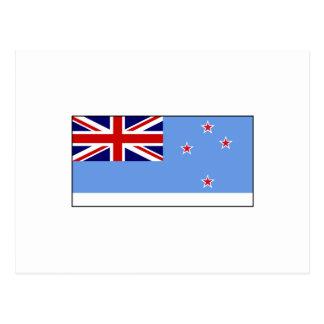 Postal Bandera de la dependencia de Ross