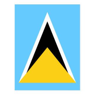 Postal Bandera de la Santa Lucía