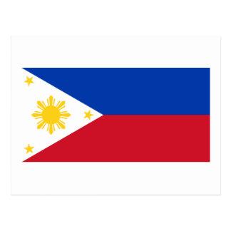 Postal Bandera de las Filipinas