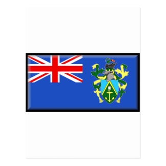 Postal Bandera de las islas de Pitcairn