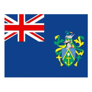Postal Bandera de las islas de Pitcairn del australiano