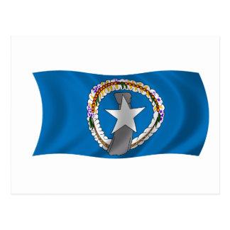 Postal Bandera de los Northern Mariana Islands
