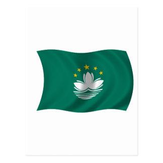 Postal Bandera de Macao