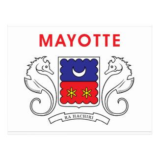 Postal Bandera de Mayotte