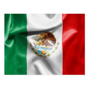 Postal Bandera de México