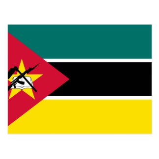 Postal Bandera de Mozambique