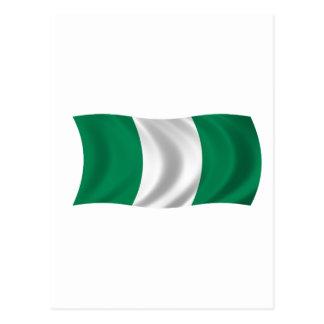 Postal Bandera de Nigeria