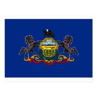 Postal Bandera de Pennsylvania