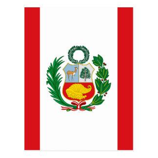 Postal Bandera de Perú