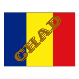 Postal Bandera de República eo Tchad