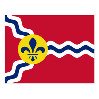 Postal Bandera de St. Louis, Missouri