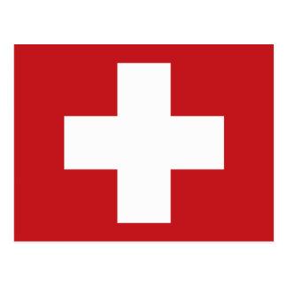 Postal Bandera de Suiza