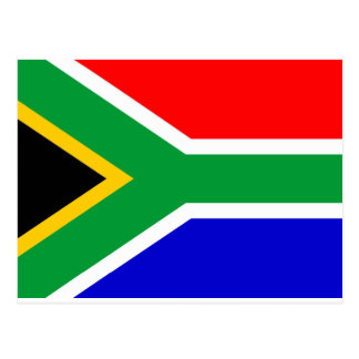 Postal Bandera de Suráfrica
