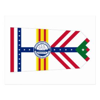 Postal Bandera de Tampa, la Florida