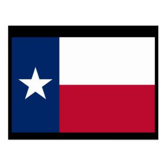 Postal Bandera de Tejas