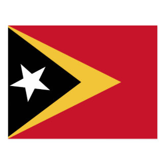 Postal Bandera de Timor Oriental