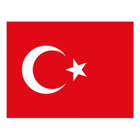 Postal Bandera de Turquía