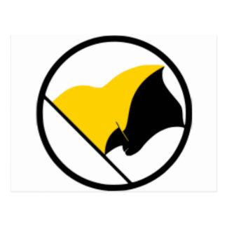 Postal Bandera del capitalismo de Anarcho