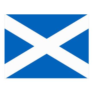 Postal Bandera escocesa
